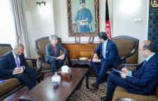 خلیل کرزی 226x145 - دیدار حکمت خلیل کرزی با سفیر آسترالیا در کابل