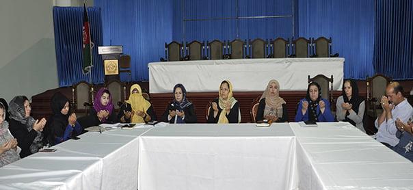 قرآن کریم - برگزاری مراسم ختم قرآن کریم در وزارت امور زنان