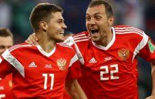 ملى پوشان روسى به دور حذفى جام جهانى راه یافتند