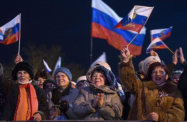 روسیه - باشنده گان روس، دشمنان خود را شناسایی کردند!