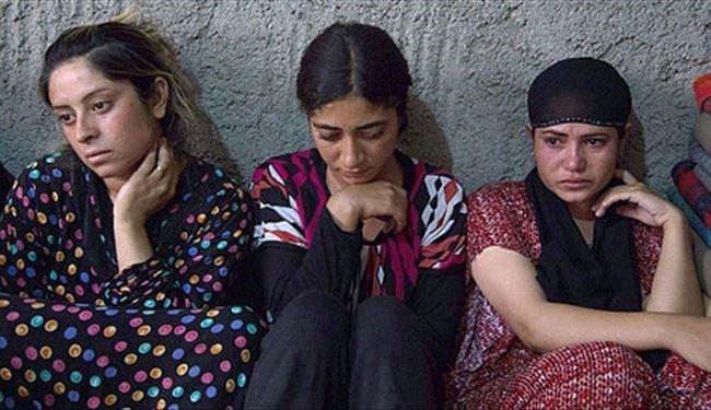 زن ایزدی - داعش 700 سوری را گروگان گرفت!
