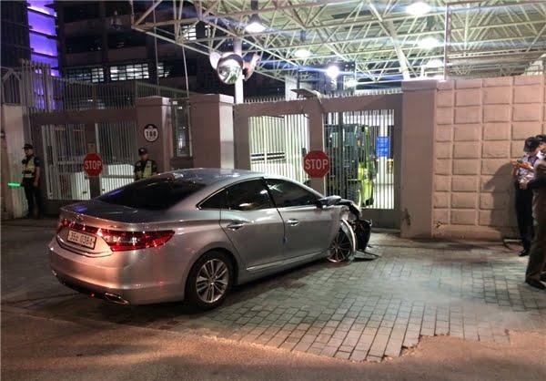 سفارت امریکا در سئول 2 - سفارت امریکا در سئول هدف حمله قرار گرفت