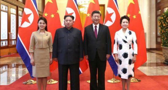 شی جین پینگ 550x295 - دیدار رییس جمهور چین با رهبر کوریای شمالی