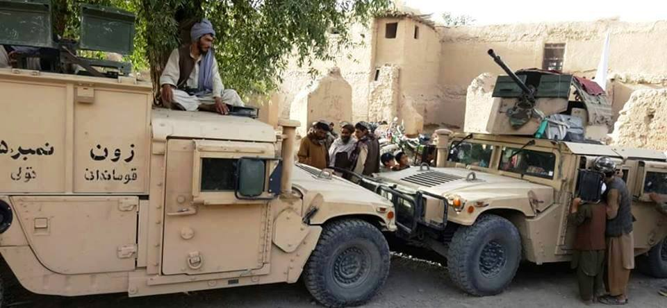 5 - تجهیزات امریکایی چگونه در اختیار طالبان قرارگرفته است؟