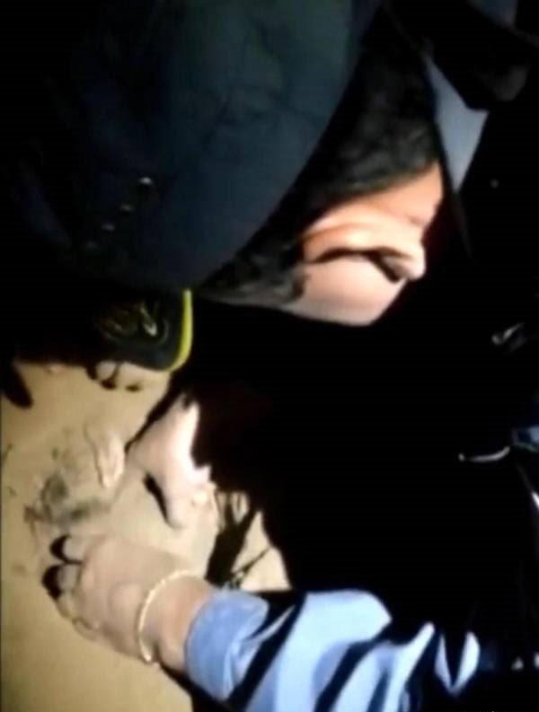 طفل 1 - طفل تازه ولادت یافته ساعت ها بعد از دفن زنده شد! + تصاویر