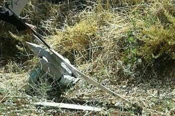 طیاره بی پیلوت 1 - اردوی سوریه طیاره بی پیلوت اسراییلی را هدف قرار داد