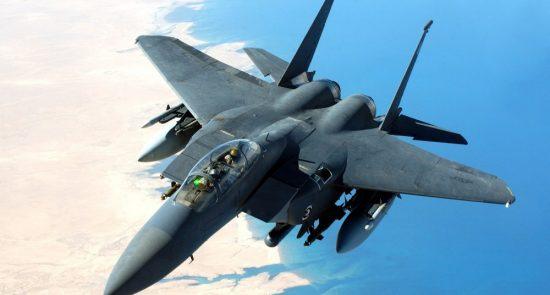 طیاره جنگی 1 550x295 - افغانستان؛ محل فرود راکت های امریکایی!
