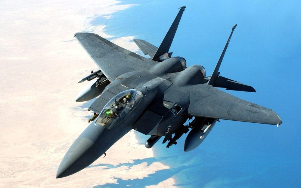 طیاره جنگی 1 - حمله طیارات جنگی عربستان به شمال یمن
