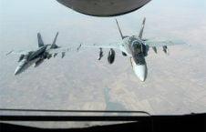 طیاره جنگی 226x145 - کشته شدن 10 فرد ملکی در حمله ایتلاف امریکایی به شرق سوریه