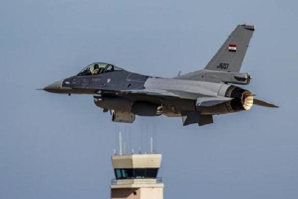 طیاره عراقی - حمله طیارات جنگی عراقی بالای مواضع داعش در سوریه