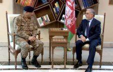عبدالله جنرال باجوه 226x145 - دیدار داکتر عبدالله عبدالله با لوی درستیز پاکستان