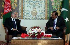 عبدالله عبدالله ممنون حسین 226x145 - رییس اجراییه کشورمان با رییس جمهور پاکستان دیدار کرد
