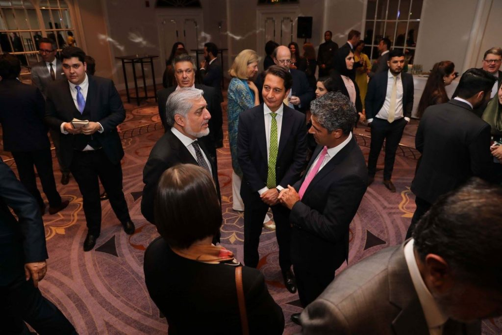 عبدالله 2 1 1024x683 - تصاویر/ ضیافت افطار با حضور داشت رییس اجراییه در لندن
