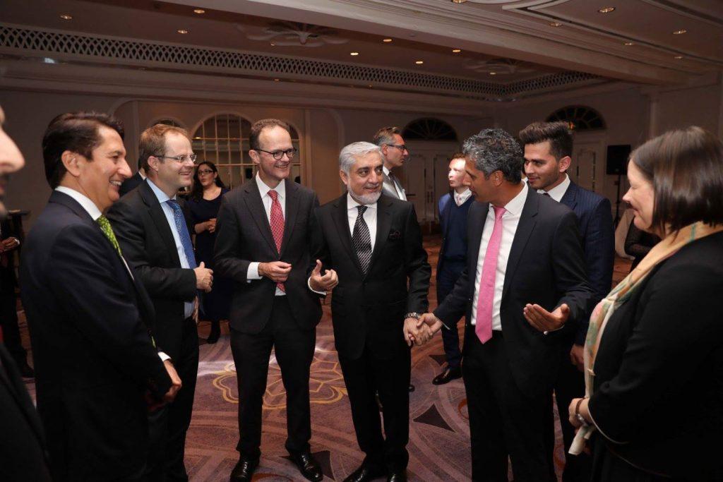 عبدالله 3 1024x683 - تصاویر/ ضیافت افطار با حضور داشت رییس اجراییه در لندن