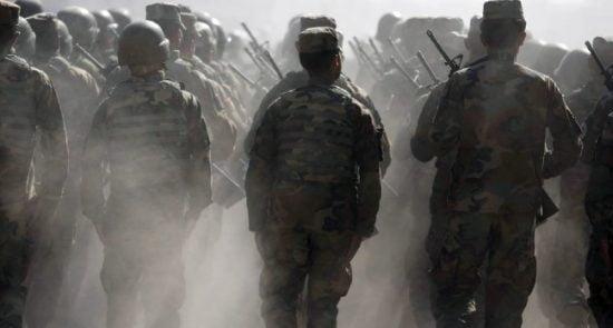 عسکر 550x295 - آمار تکان دهنده از اختلال روانی عساکر امریکا در افغانستان