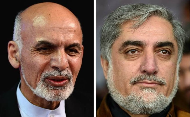 غنی و عبدالله 1 - عبدالله: غنی توان مذاکره کردن با من را ندارد