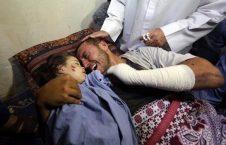 فلسطینی 3 226x145 - طفل کُشی صهیونیستها ادامه دارد...