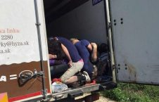 لاری 226x145 - مرگ دردناک 71 مهاجر در یک لاری؛ 25 سال زندان برای عاملان جنایت