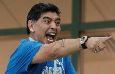 226x145 - مارادونا از شادی زیاد راهی شفاخانه شد!