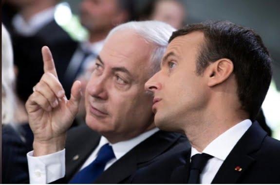 مکرون و نتانیاهو - نگاه عاقل اندر سفیه؛ انتقاد مکرون از بی منطقی نتانیاهو