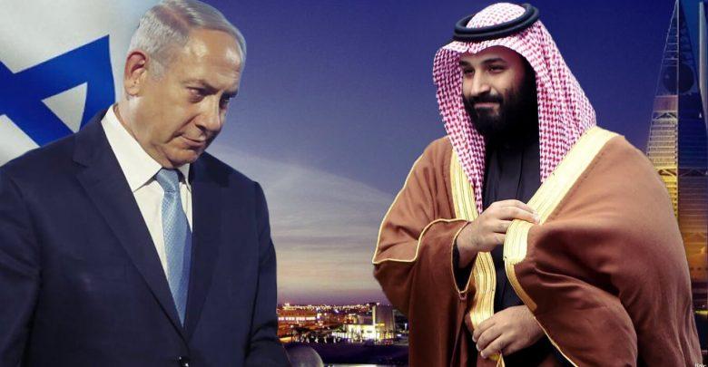 نتانیاهو و بن سلمان - دیدار محرمانه نتانیاهو و بن سلمان در اردن