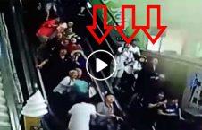 ویدیو لحظه افتادن سقف بالای سر مردم 226x145 - ویدیو/ لحظه افتادن سقف بالای سر مردم!