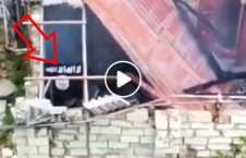 لحظه منفجر شدن یک داعشی 226x145 - ویدیو/ لحظه منفجر شدن یک داعشی