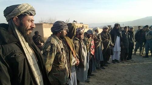 پروسه صلح - قوماندان طالب و افرادش در جوزجان به پروسه صلح پیوستند