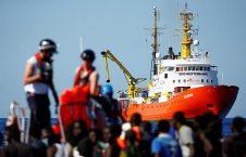 پناهجویان 226x145 - توقف پناهجویان نجاتیافته از دریا در ایتالیا ممنوع!