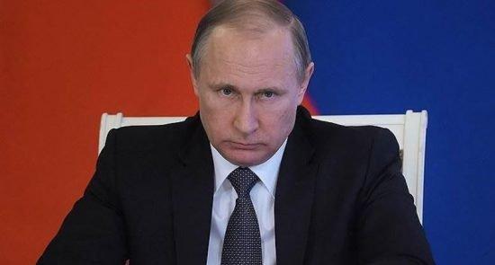 پوتین 2 550x295 - واکنش رییس جمهور روسیه به پیروزی امریکا بر داعش در سوریه