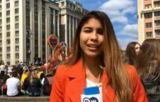 ژولیت گنزالس تران 1 226x145 - خبرنگار دویچهوله مورد آزار جنسی قرار گرفت! + عکس
