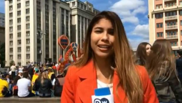 ژولیت گنزالس تران 1 - خبرنگار دویچهوله مورد آزار جنسی قرار گرفت! + عکس