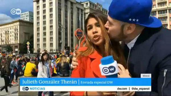 ژولیت گنزالس تران - خبرنگار دویچهوله مورد آزار جنسی قرار گرفت! + عکس