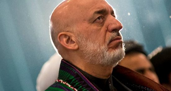 کرزی 2 550x295 - حامد کرزی عضویت شورای عالی مصالحه ملی را نپذیرفت