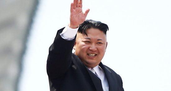 کیم جونگ اون 1 550x295 - رهبر کوریای شمالی عازم سنگاپور شد