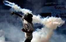 گاز اشک آور 226x145 - حمله به کلوب شبانه در ونزویلا ۱۷ کشته برجای گذاشت