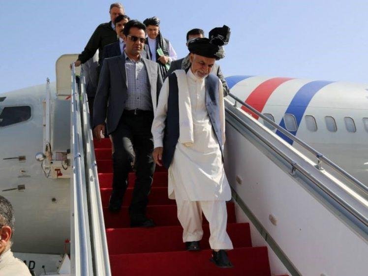 اشرف غنی - سفر رییسجمهور غنی به فاریاب