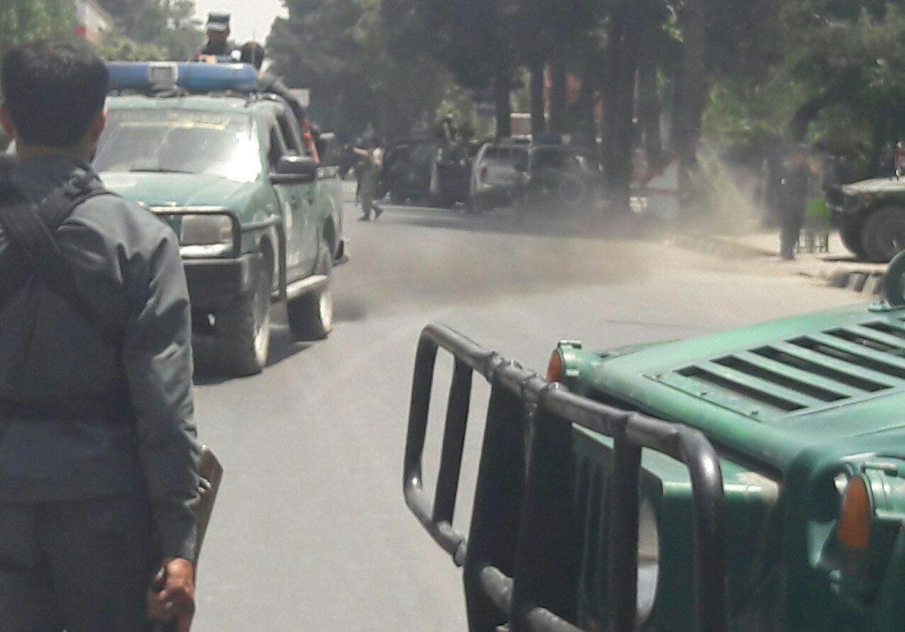 انفجار - حمله انتحاری در نزدیکی تجمع حامیان جنرال دوستم در کابل