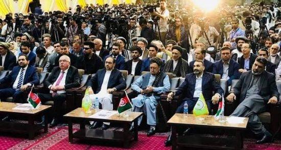 ایتلاف بزرگ ملی افغانستان  550x295 - جبهه ملی نوین راه اش را از ایتلاف بزرگ ملی افغانستان جدا کرد
