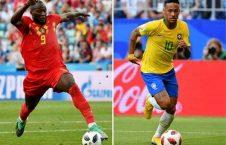 برازیل بلجیم 226x145 - حذف یاران نیمار از جام جهانی؛ بلجیم به نیمه نهایی رفت