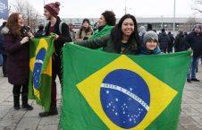 برازیل 1 226x145 - تصویر/ پوشش عجیب برازیلیها در روسیه!