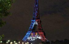 تصویر/ برج ایفل پس از قهرمانی فرانسه