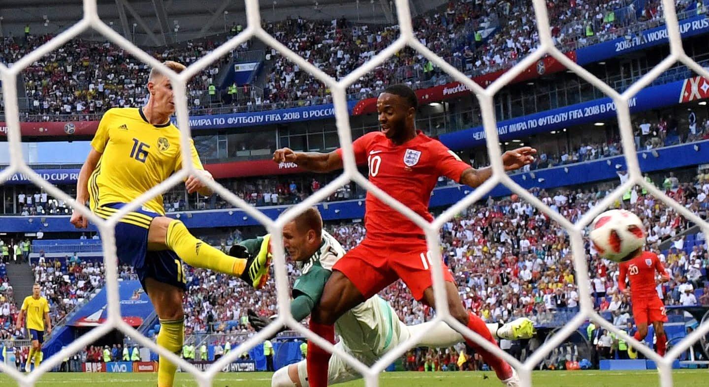 سویدن - بریتانیا به جمع 4 تیم برتر جام جهانی راه یافت؛ روسیه حذف شد