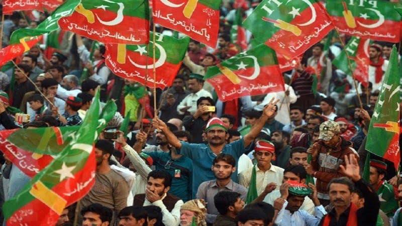 تحریک انصاف - جشن پیروزی طرفداران تحریک انصاف در پاکستان!