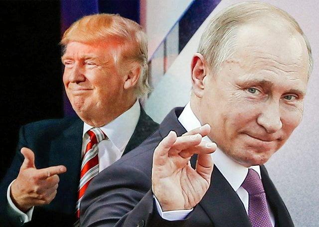 ترمپ پوتین - قدردانی دونالد ترمپ از ولادیمیر پوتین