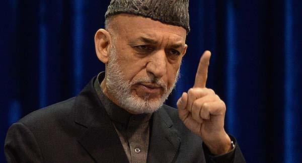 حامد کرزی - کرزی: نمی خواهیم تحت نفوذ پاکستان باشیم