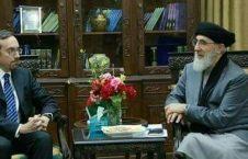 حکمتیار 3 226x145 - عکس/ ديدار حكمتيار با سفير امريكا در کابل