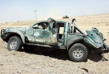 رنجر 437x295 - انفجار در مسیر رنجر پولیس در ولایت بلخ