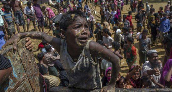 روهینگیا 550x295 - ممنوعیت ورود مسلمانان روهینگیایی به هند