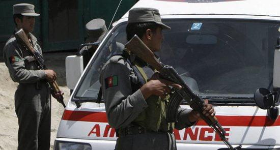 زخمی 550x295 - وقوع انفجارهای پیهم در کابل، پروان و ننگرهار